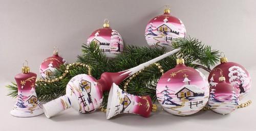 Weihnachtskugeln und glasfederhalter aus lauscha - Weihnachtskugeln aus glas ...